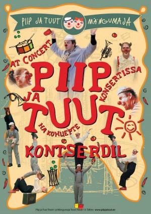 Piip_ja_Tuut_Kontserdil_PLAKAT